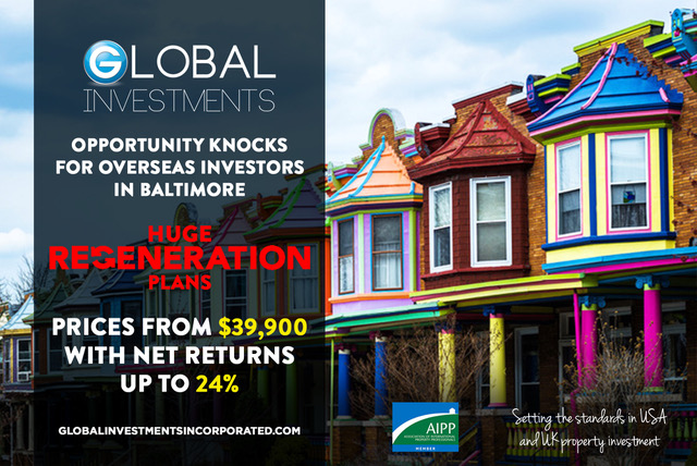 BALTIMORE MATCH MAKES INVESTORS WITH OPPORTUNITY