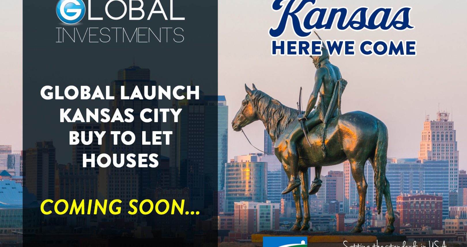 GLOBAL ARE COMING TO KANSAS