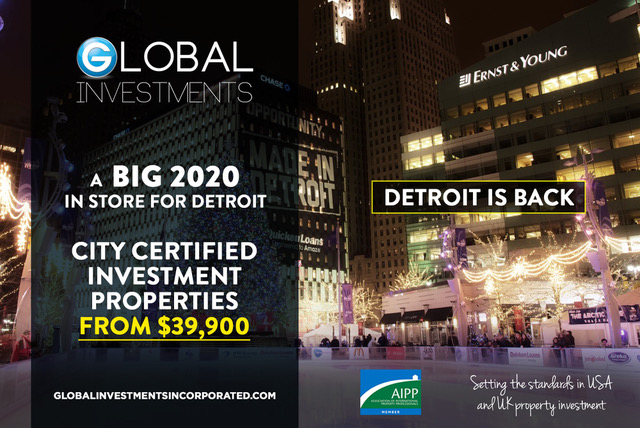 A BIG 2020 IN STORE FOR DETROIT