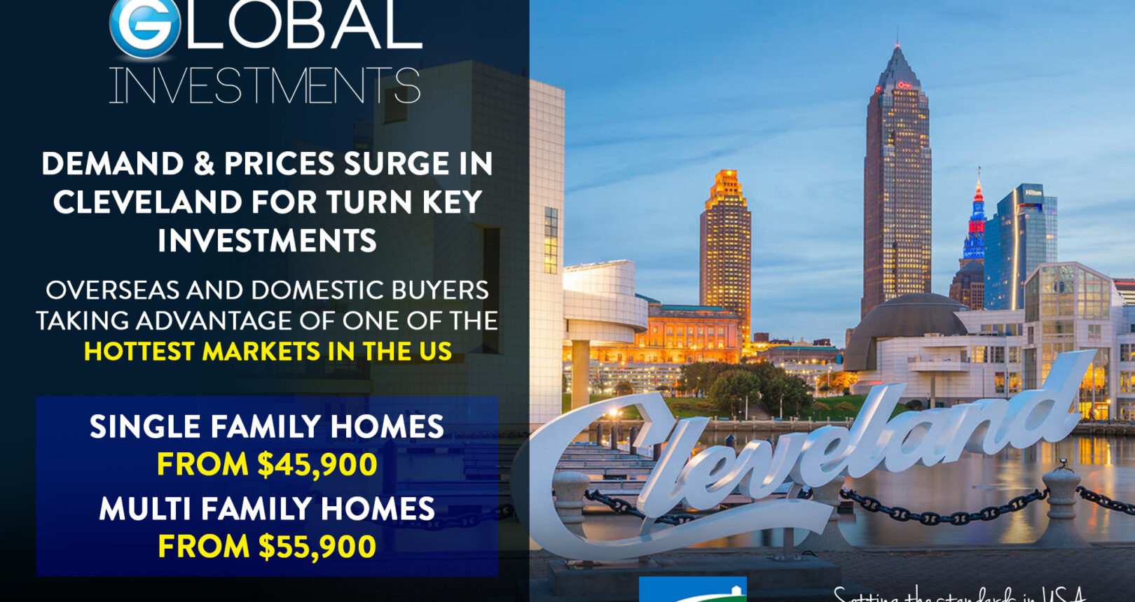 Demand and prices surge in Cleveland for turnkey investments